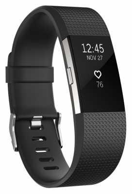 Fitbit Charge 2 - Black, Large FB407SBKL-EU