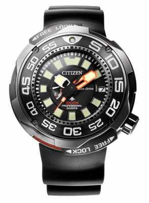 Citizen Promaster Marine 1000M Eco-Drive Divers Rubber Strap BN7020-17E