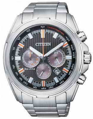 Citizen Mens Eco-drive Chronograph Stainless Steel CA4220-55E