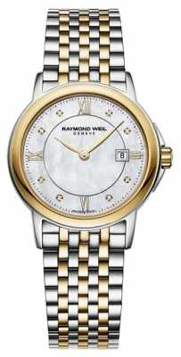 Raymond Weil Womens Tradition Two Tone diamond 5966-STP-00995