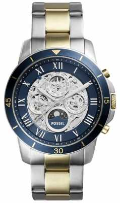 Fossil Mens Grant Two Tone Sport Watch ME3141