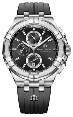 Maurice Lacroix Mens Aikon Chronograph Watch AI1018-SS001-330-2