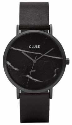 CLUSE La Roche Black Case Marble Dial/black Strap CL40001