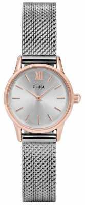 CLUSE La Vendette Rose Gold Case Silver Dial/silver Mesh Strap CL50024