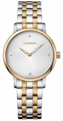 Wenger womens Urban Donissima Two Tone Pvd Watch 01.1721.104