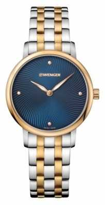Wenger womens Urban Donissima Two Tone Pvd Watch 01.1721.103