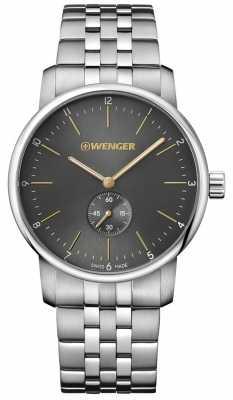 Wenger mens Urban Classic  Steel Bracelet watch 01.1741.106