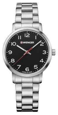 Wenger womens Avenue Stainless Steel Bracelet Watch 01.1621.102