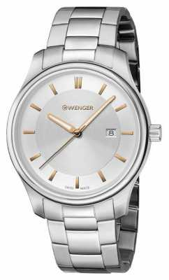 Wenger womens City Classic Stainless Steel Watch 01.1421.105