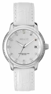 GANT Womens Lynbrooke White Leather Strap White Dial W10714
