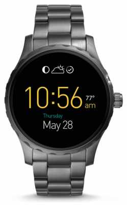 Fossil Gen 2 Q Marshal Smartwatch smoked Stainless Steel FTW2108