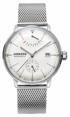 Junkers Mens Bauhaus Auto Steel Mesh Watch 6060M-5