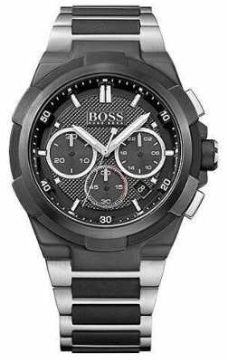 Hugo Boss Mens Supernova Chronograph Black Dial 1513368