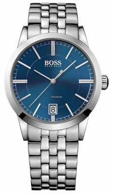 Hugo Boss Mens Success Watch Blue Dial 1513135