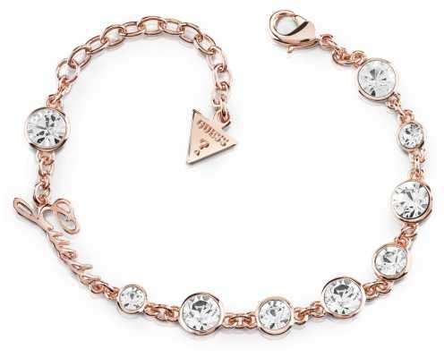 Guess Crystal Beauty Crystal Bracelet Rose Gold UBB84128-L