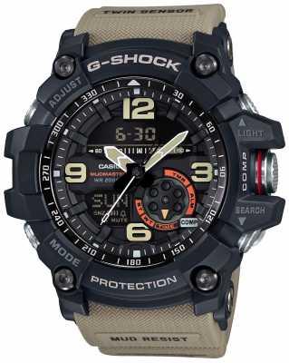 Casio Mens G-Shock Mudmaster Master Of G Brown Strap GG-1000-1A5ER