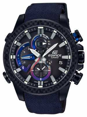 Casio Mens Torro Rosso Bluetooth Triple Connect Watch EQB-800TR-1AER