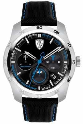 Scuderia Ferrari Primato Black And Blue Dial 0830445