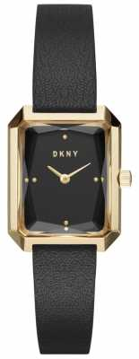 DKNY Womans Cityspire Black And Gold NY2644