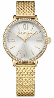 Juicy Couture Womans Socialite Watch Gold 1901613