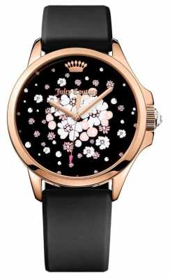 Juicy Couture Womans Jetsetter Floral Black 1901571