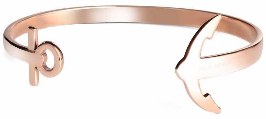 Paul Hewitt Jewellery Rose Gold Anchor Cuff Medium PH-CU-R-M