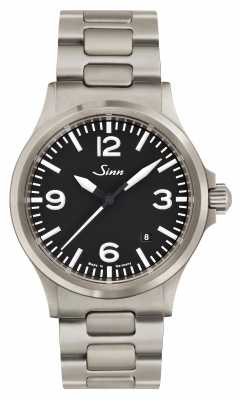 Sinn 556 A Sports Sapphire Glass Stainless Steel Diver Extension 556.014