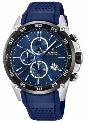 Festina Mens Originals Tour Of Britain 2017 Blue F20330/2