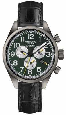 Aviator Mens Airacobra P45 Chronograph Watch V.2.25.7.171.4