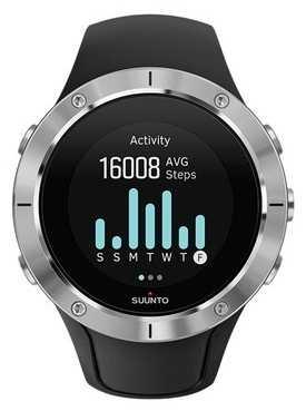 Suunto Unisex Spartan Trainer Wrist HR Steel Sport Watch SS023425000