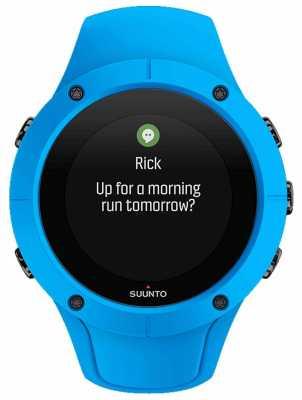 Suunto Unisex Spartan Trainer Wrist HR Blue Sport Watch SS023002000