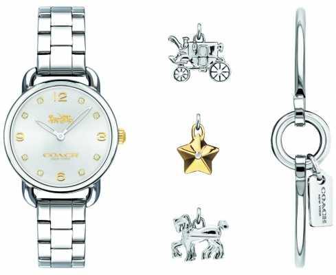 Coach Womans Delancey Bangle Watch 14000055