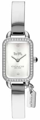 Coach Woman's Ludlow Silver Rectangle Dial 14502823