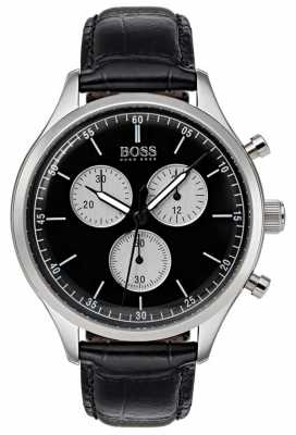Hugo Boss Mens Companion Chronograph Watch Black 1513543