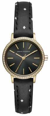 Armani Exchange Womens Lola Leather Strap AX5543
