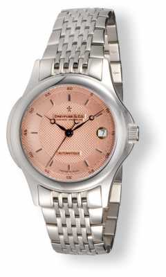 Dreyfuss Mens Salmon Pink Dial Stainless Steel DGB00016/25