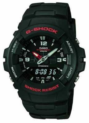 Casio G-Shock Chronograph G-100-1BVMUR