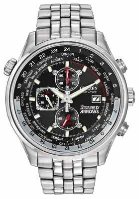 Citizen Red Arrows Chronograph Stainless Steel Strap CA0080-54E