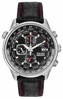 Citizen Red Arrows Chronograph Leather Strap CA0080-03E