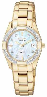 Citizen Womens Regent 28 Diamonds EW1822-52D