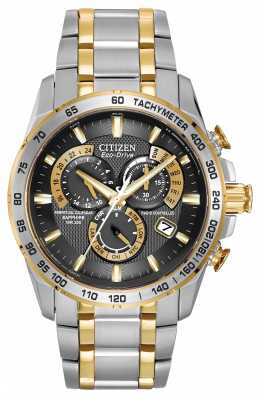 Citizen Radio Controlled Perpetual Calendar Chronograph A-T AT4004-52E