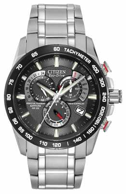 Citizen Radio Controlled Perpetual Calendar Chronograph A-T AT4008-51E