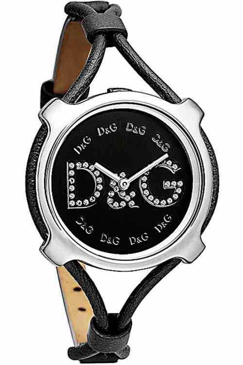 d g lisbon womens black leather dw0843