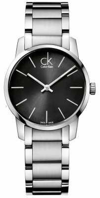 Calvin Klein City Womens Stainless Steel Case K2G23161