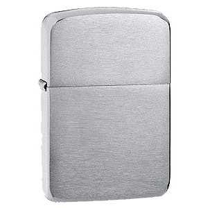 Zippo 1941 Replica Lighter Brushed Chrome Finish ZIPPO-1941