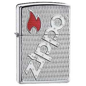 Zippo Armour Bolted Lighter High Polish Finish ZIPPO-20991