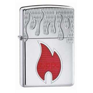 Zippo Armour Inferno Lighter High Polish Finish ZIPPO-20993