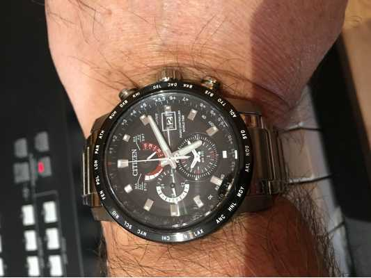 how to set citizen eco drive radio controlled world time