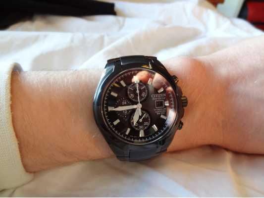 citizen mens eco drive titanium watch ca0265 59e customer picture of citizen mens eco drive titanium ca0265 59e